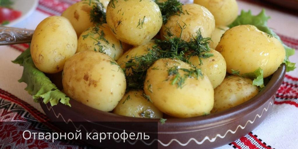 Вареная картошка при похудении