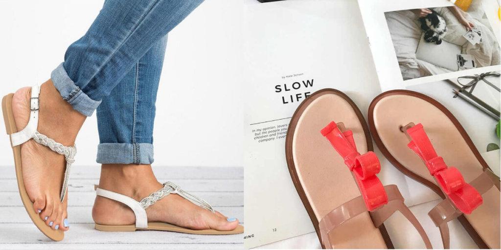 Flip-Flops модные босоножки Лето 2020