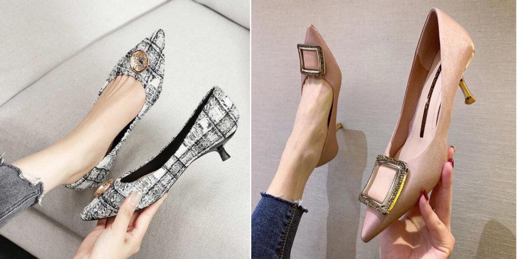 Kitten heels модные босоножки Лето 2020