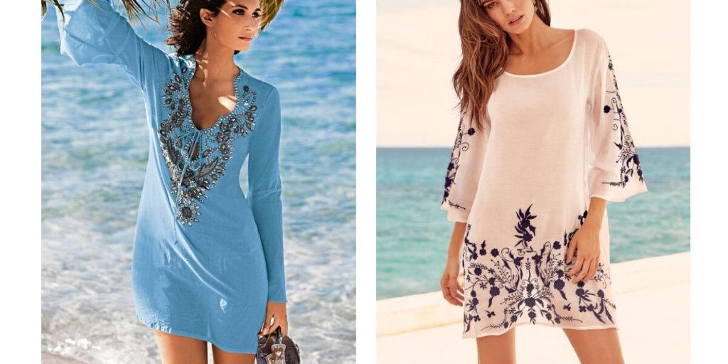 Что надеть на пляж ЛЕТО 2020. Дизайнерские платья