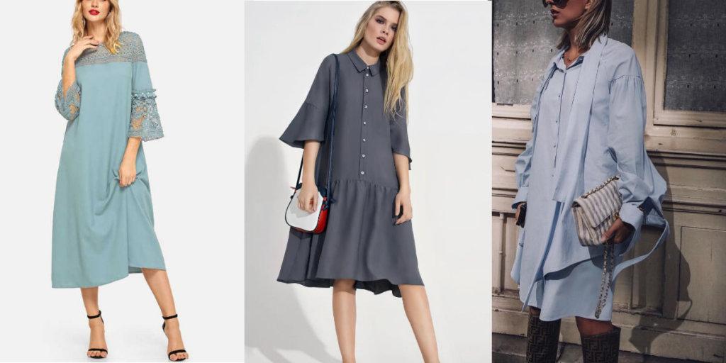 Летние платья оверсайз 2020. Модные тенденции