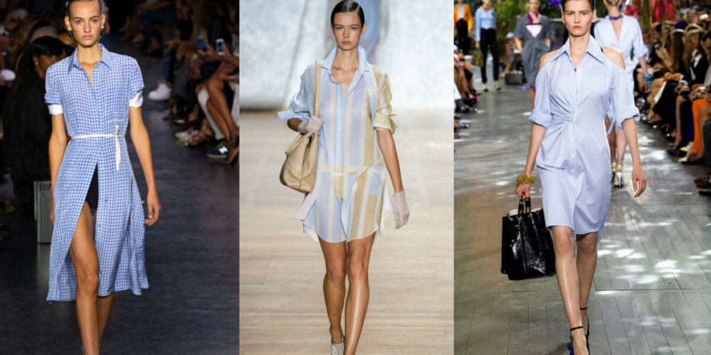 Летние платья-рубашки 2020. Модные тенденции