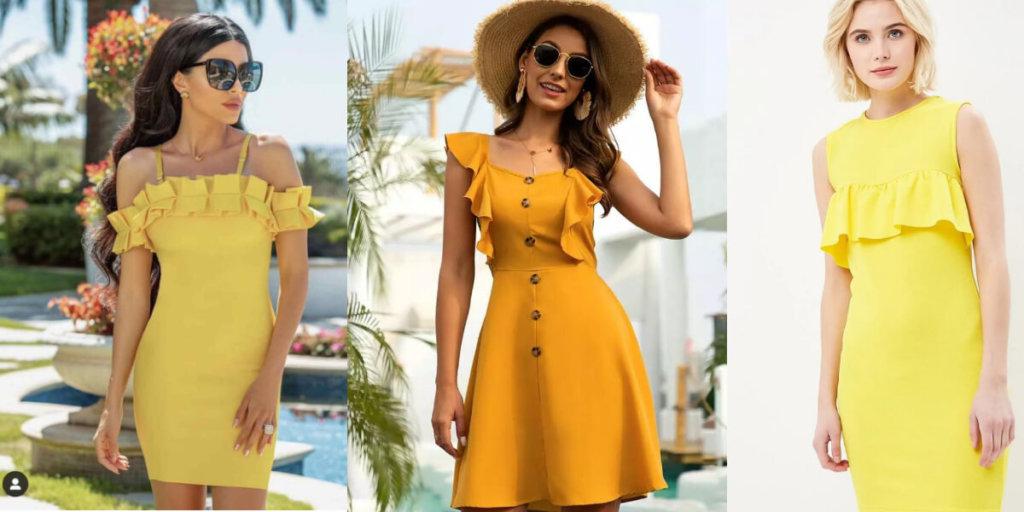 Летние платья с воланами 2020. Модные тенденции