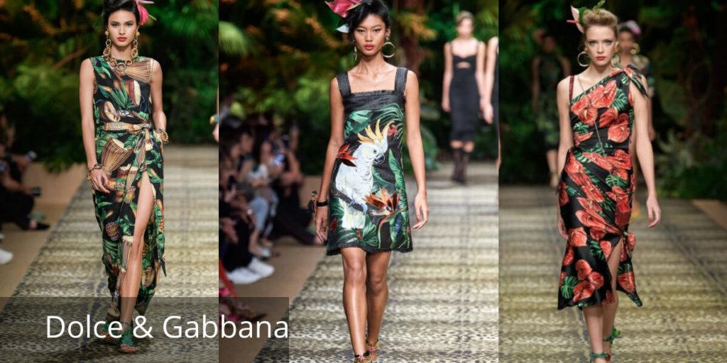 Летние платья 2020. Модные тенденции. Dolce & Gabbana