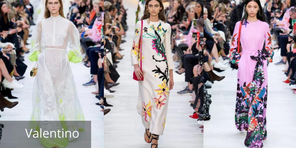 Летние платья 2020. Модные тенденции. Valentino