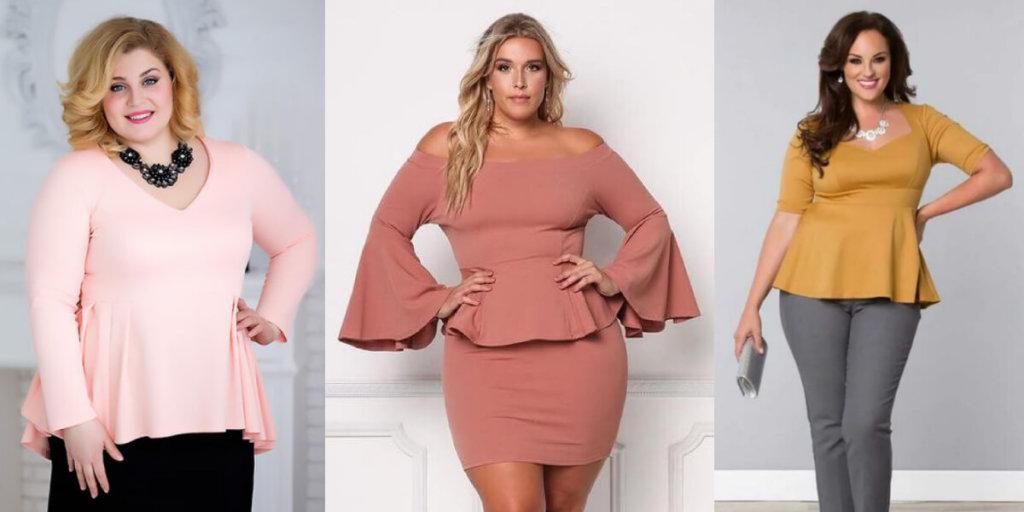 Блузки, которые стройнят, модные фасоны
