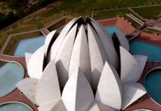Храм Лотоса в Индии — главная достопримечательность Нью-Дели (фото)