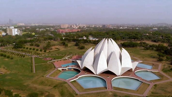 Храм Лотоса в Индии - главная достопримечательность Нью-Дели (фото)
